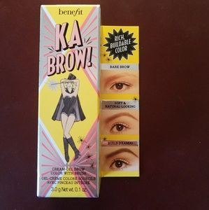 Kabrow cream gel brow color with brush #3